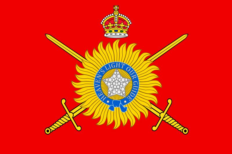 Флаг армии Индии