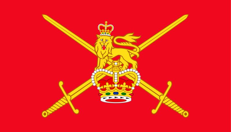 Флаг армии Великобритании